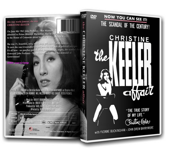 The Christine Keeler Affair - John Drew Barrymore [DVD]