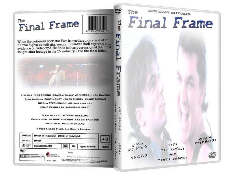 THE FINAL FRAME - Nick Reding Suggs Madness [1990] DVD