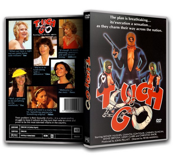 TOUCH and GO - Wendy Hughes Carmen Duncan [1980] DVD